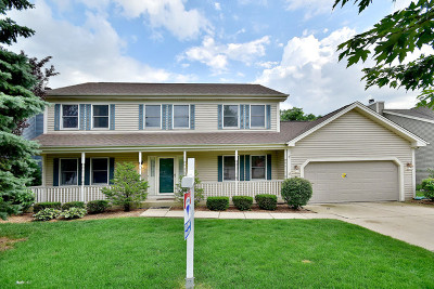 Carol Stream Single Family Home Re-activated: 1354 Lance Lane