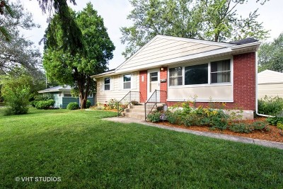 Lombard Single Family Home Contingent: 842 South Norbury Avenue