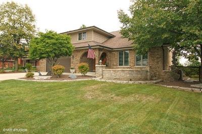 Mokena Single Family Home For Sale: 18809 Parkway Lane