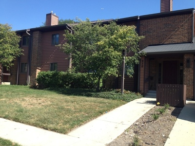 Elgin Condo/Townhouse For Sale: 950 Jefferson Avenue #A
