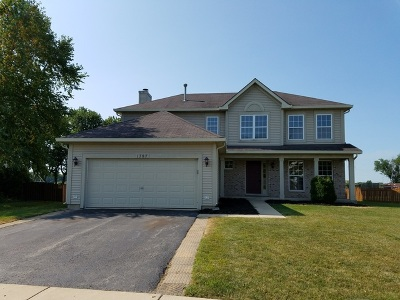 Romeoville Single Family Home For Sale: 1787 William Drive