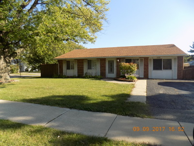 Bolingbrook Single Family Home Price Change: 349 East Briarcliff Road