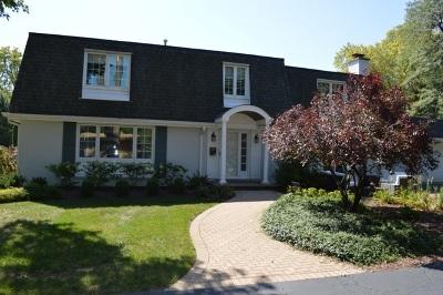 Western Springs Single Family Home For Sale: 5200 Fair Elms Avenue