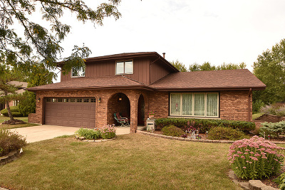 Orland Park Single Family Home Contingent: 11926 Chisholm Trail
