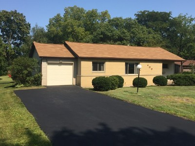 Hoffman Estates Single Family Home For Sale: 400 Hawthorn Lane
