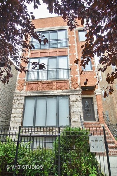 Chicago Condo/Townhouse For Sale: 956 North Leavitt Street #3