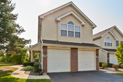 Carpentersville Condo/Townhouse For Sale: 7393 Grandview Court