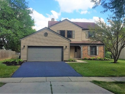 Naperville Single Family Home Price Change: 454 Nantucket Road