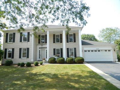 Hoffman Estates Single Family Home For Sale: 4900 Thornbark Drive