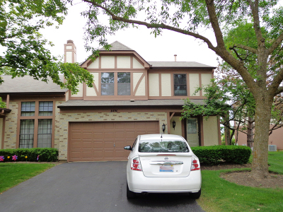 Hoffman Estates Condo/Townhouse For Sale: 4490 Opal Drive