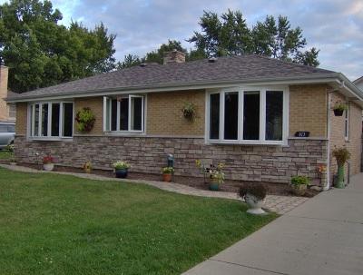 Roselle Single Family Home For Sale: 327 Berkshire Terrace