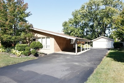 Oakbrook Terrace Single Family Home Re-activated: 17w122 Elder Lane