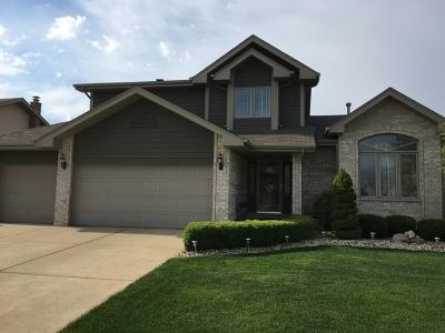 Tinley Park Single Family Home For Sale: 7527 Ridgefield Lane