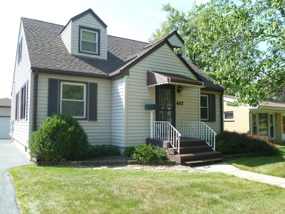 Lombard Single Family Home For Sale: 407 West Taylor Road