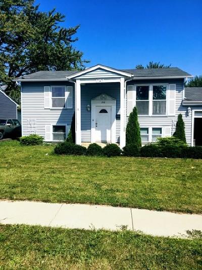 Romeoville Single Family Home Price Change: 210 Karen Avenue