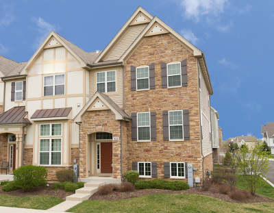 Carol Stream Condo/Townhouse For Sale: 311 Saunders Circle