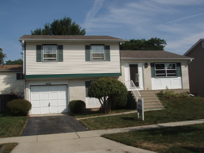 Hoffman Estates Single Family Home Price Change: 4431 Olmstead Drive