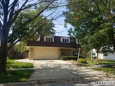 Palos Heights, Palos Hills Single Family Home For Sale: 8532 Loveland Lane
