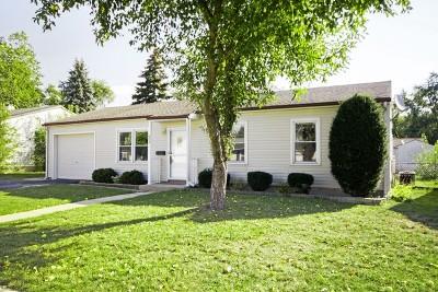 Romeoville Single Family Home For Sale: 609 Hudson Avenue