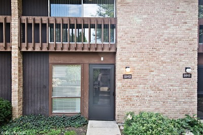 Lisle Condo/Townhouse For Sale: 5913 Oakwood Drive #140B