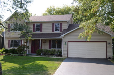 Cary Single Family Home Contingent: 480 Moraine Hill Drive
