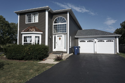 Naperville Single Family Home For Sale: 1724 Coach Drive