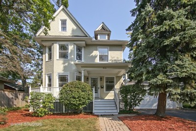 Winnetka Single Family Home Price Change: 905 Elm Street