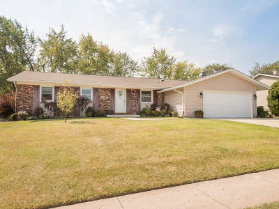 Hoffman Estates Single Family Home Contingent: 3670 Winston Place