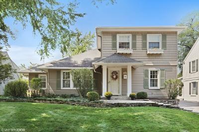 Western Springs Single Family Home For Sale: 4028 Harvey Avenue