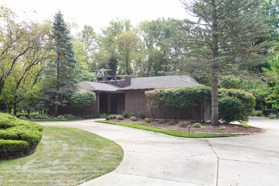 Oak Brook Single Family Home Contingent: 24 Robin Hood Rnch