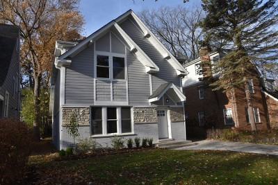 Highland Park Single Family Home For Sale: 442 Burton Avenue