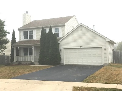 Huntley Single Family Home For Sale: 9784 Bedford Drive