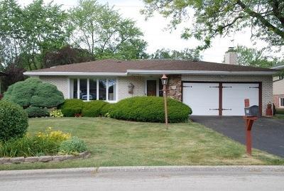 Palos Heights, Palos Hills Single Family Home For Sale: 12756 South Cedar Lane