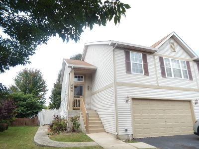 Oswego Condo/Townhouse For Sale: 404 Newport Circle