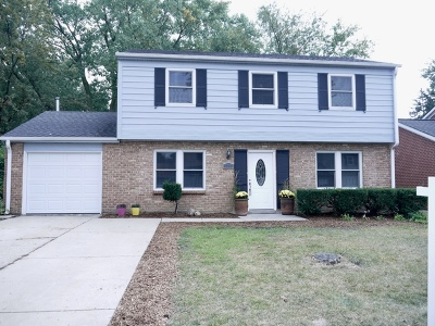 Glendale Heights Single Family Home For Sale: 1387 Glengary Drive