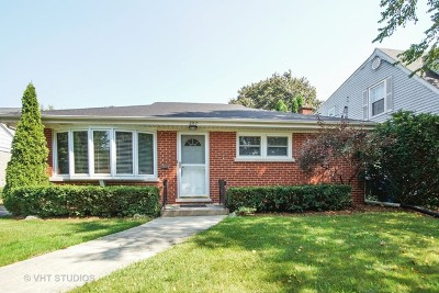 Mount Prospect Single Family Home For Sale: 207 South Edward Street