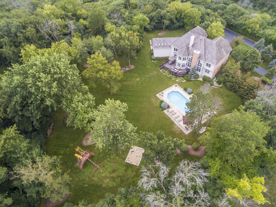 Barrington Hills Single Family Home For Sale: 60 Dundee Road
