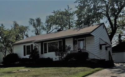 Downers Grove Single Family Home Contingent: 235 Sheldon Avenue