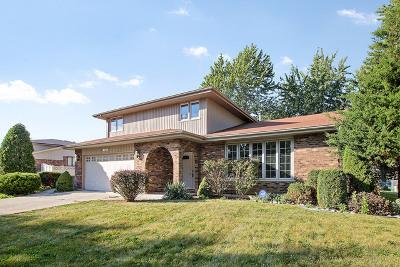 Orland Park Single Family Home Price Change: 9100 Sheri Lane