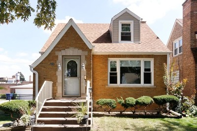 Evergreen Park Single Family Home Price Change: 10223 South Sawyer Avenue