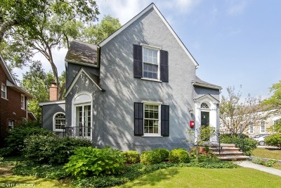 Winnetka Single Family Home For Sale: 422 Ridge Avenue