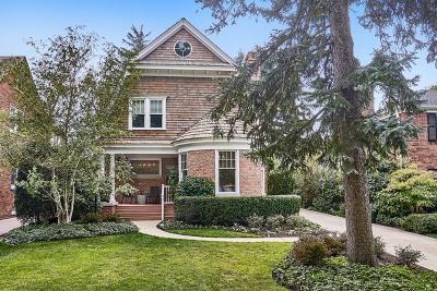 Wilmette Single Family Home For Sale: 2021 Chestnut Avenue