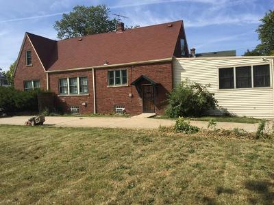 Chicago IL Single Family Home New: $169,000