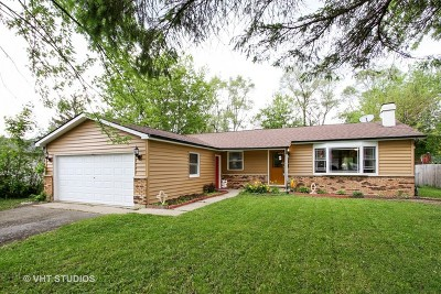 Crystal Lake Single Family Home For Sale: 9222 North Avenue
