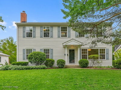 Clarendon Hills Single Family Home Price Change: 19 Arthur Avenue