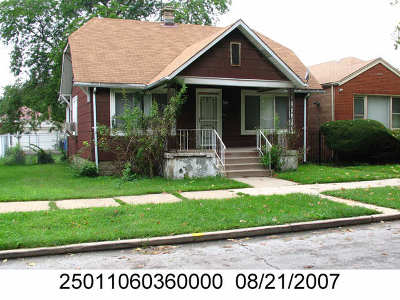 Chicago IL Single Family Home New: $59,900
