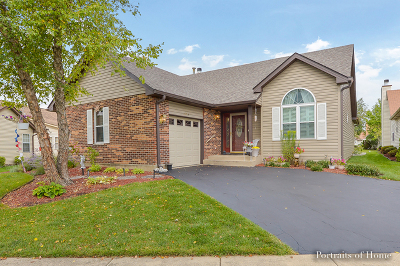 Plainfield Single Family Home For Sale: 21013 West Hazelnut Lane