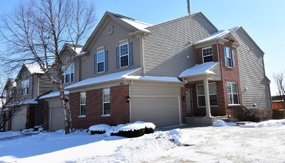Streamwood Condo/Townhouse New: 1485 Yellowstone Drive