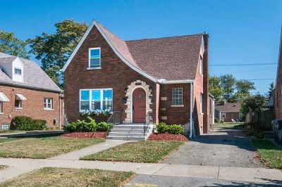 Evergreen Park Single Family Home For Sale