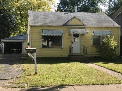 Elgin Single Family Home Contingent: 615 Cooper Avenue